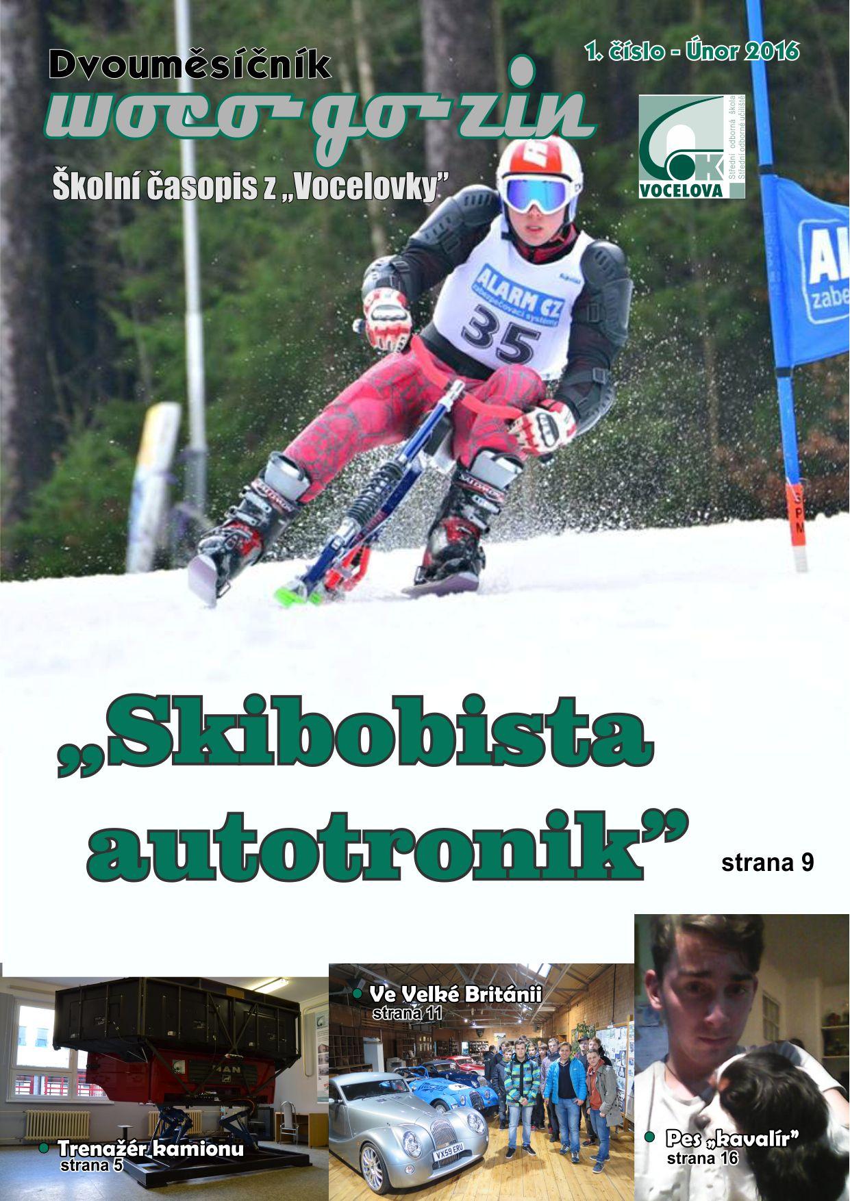 Školní časopis WOCO-GO-ZIN 1/2016
